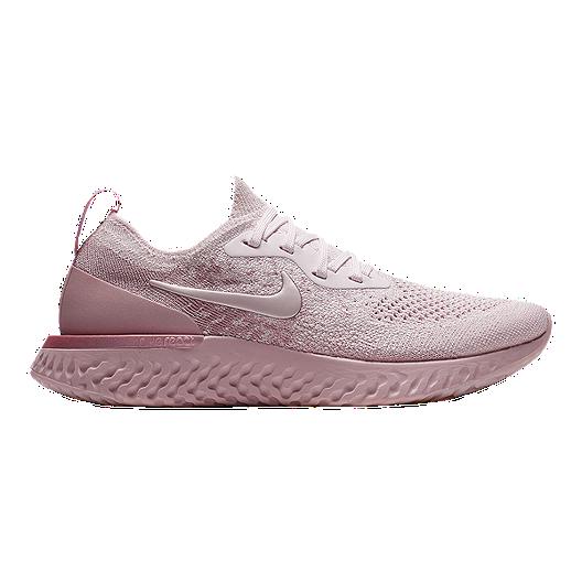 3050b9a5e964e Nike Women s Epic React Flyknit Running Shoes - Pearl Pink Rose ...