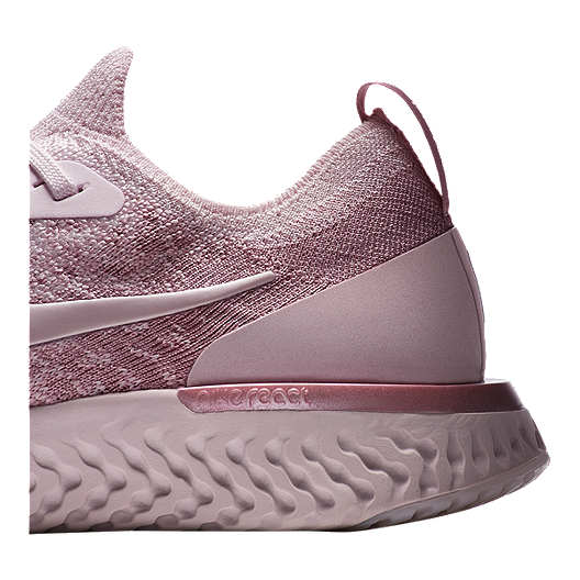 ab29e47ad Nike Women s Epic React Flyknit Running Shoes - Pearl Pink Rose. (1). View  Description