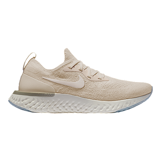 0fb2ab66425fb Nike Women s Epic React Flyknit Running Shoes - Cream White Yellow ...