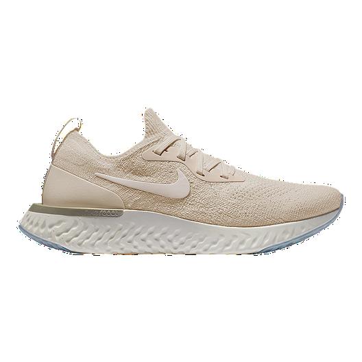 4264b6223cf8 Nike Women s Epic React Flyknit Running Shoes - Cream White Yellow ...