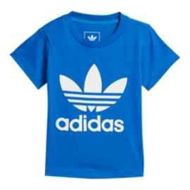 adidas Originals Baby Trefoil T Shirt - Blue/White