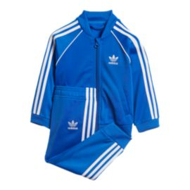 adidas Originals Baby Superstar Track Top & Bottoms Set - Blue