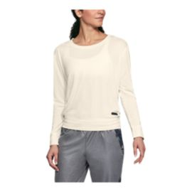 Under Armour Women's Unstoppable Open Back Long Sleeve Crew Shirt