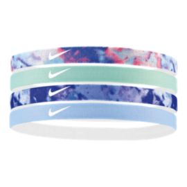 Nike Girls' Printed Headbands - 4 Pack