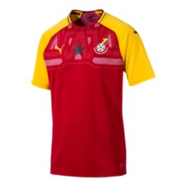 Ghana Puma Men's Replica Home Jersey