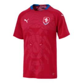 Czech Republic PUMA Men's Replica Home Jersey