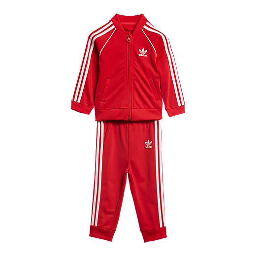 Adidas Superstar Suit Scarlet