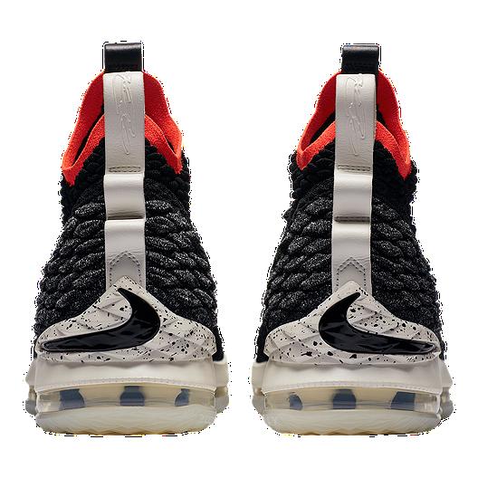 sale retailer e32b0 6d630 Nike Men s LeBron 15 Basketball Shoes - Black Sail Crimson. (1). View  Description