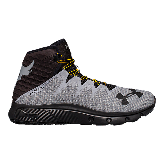 31aa08d5a58d Under Armour Men s Project Rock Delta Training Shoes - Grey Black ...