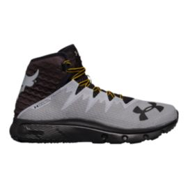 Under Armour Men's Project Rock Delta Training Shoes - Grey/Black