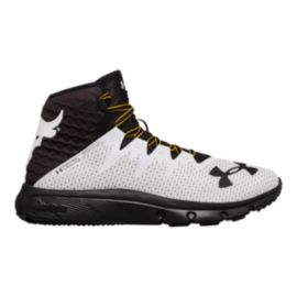 Under Armour Men's Project Rock Delta Training Shoes - Delta White/Black