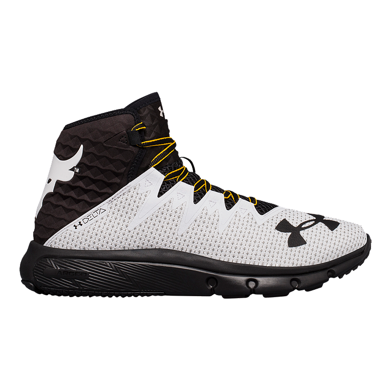 Fundador Moler Espectador  Under Armour Men's Project Rock Delta Training Shoes - Delta White/Black    Sport Chek