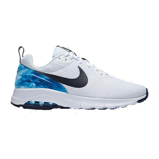 9ba74114bd Nike Men's N7 Air Max Motion Low Shoes - White/Obsidian - WHITE/DARK