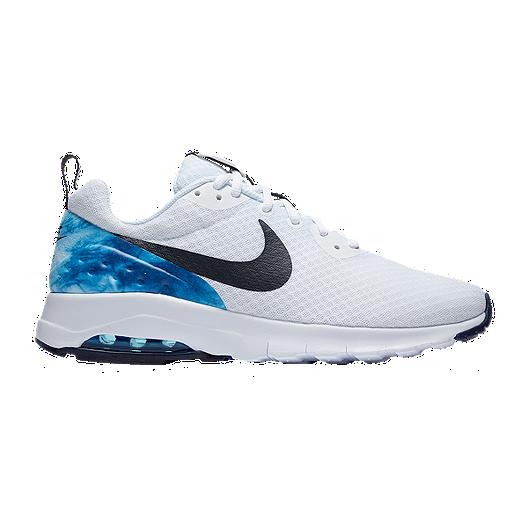 1a4e0255cee40 Nike Men's N7 Air Max Motion Low Shoes - White/Obsidian | Sport Chek