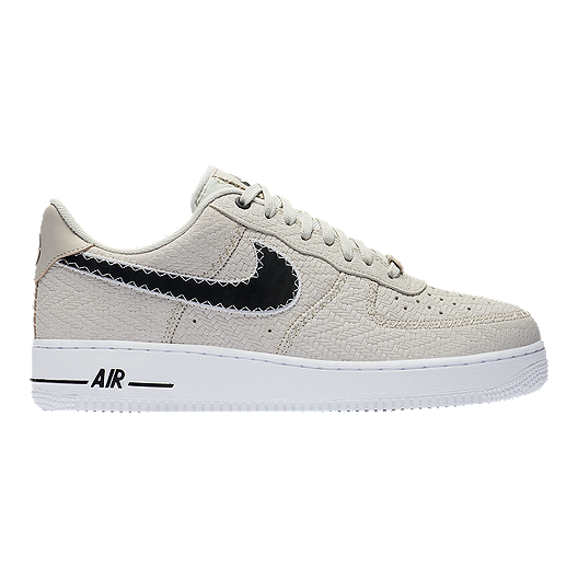 83ca4e3812454 Nike Men s N7 Air Force 1  07 LT Shoes - Light Bone Dark Obsidian ...