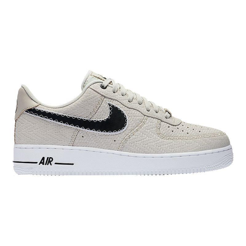 new style 2a7f9 7b63f Nike Mens N7 Air Force 1 07 LT Shoes - Light BoneDark Obsidian