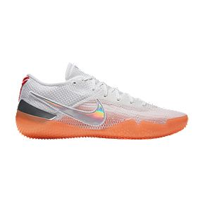 329d73fb604 Nike Men s Kobe AD NXT Basketball Shoes - White Orange Red