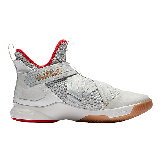 super popular 7d0b2 a3002 Nike Men's LeBron Soldier XII Basketball Shoes - Light Bone ...