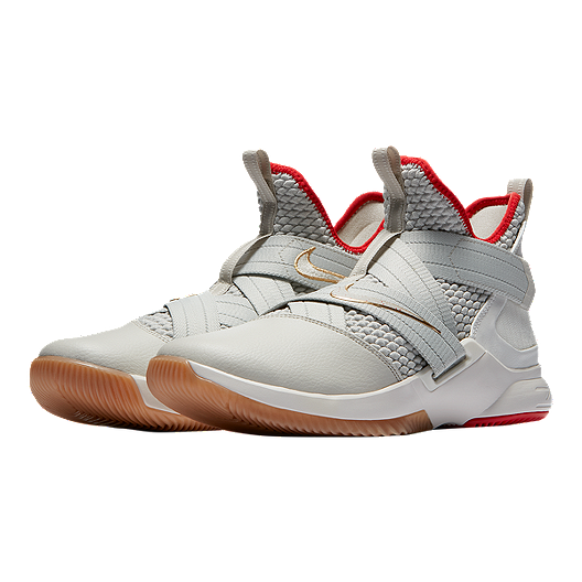 super popular 06916 b64ac Nike Men's LeBron Soldier XII Basketball Shoes - Light Bone ...