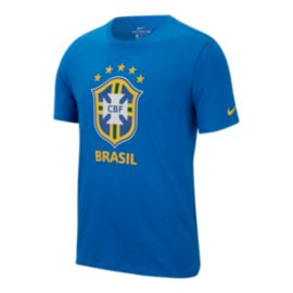 Brazil Nike Men's Evergreen Crest T Shirt
