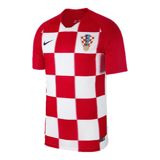 7004f8a38de Nike Croatia Stadium Home Soccer Jersey - RED