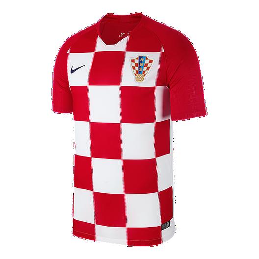 e8b7507eba49 Nike Croatia Stadium Home Soccer Jersey