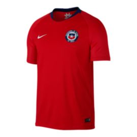 Chile Nike Men's Stadium Jersey Home Red