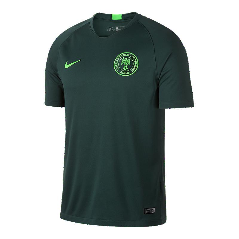 d9a3167a9 Nike Nigeria Stadium Away Soccer Jersey