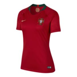 Portugal Women's Stadium Home Soccer Jersey