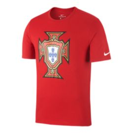 Portugal Nike Men's Evergreen Crest T Shirt