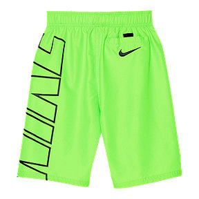 Nike Boys' 4-7 6 Inch Solid Volley Swim Shorts