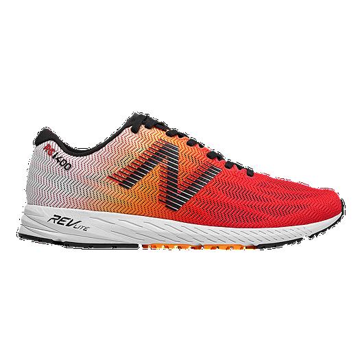 b5dc6dfa0441e New Balance Men s 1400v6 Running Shoes - White Orange