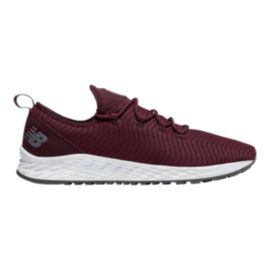 New Balance Men's FreshFoam Arishi Sport Running Shoes - Burgundy/White