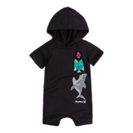 Hurley Baby Boys' Pocket Play Romper