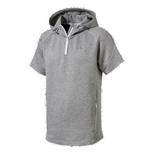 a1a1d5d2 Puma Men's Evostripe Light Knit Short Sleeve Hoodie | Sport Chek
