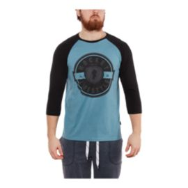 Gongshow Men's Post Game Lifestyle 3/4 Raglan Shirt