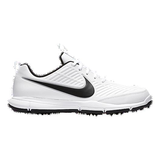 ea76cc19c555 Nike Men s Explorer 2 Golf Shoe - Black White