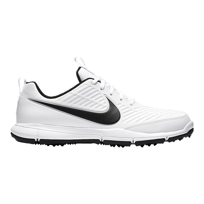 7b72f810566 Nike Men s Explorer 2 Golf Shoe - Black White