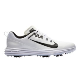 Nike Men's Lunar Command 2 Golf Shoe - White/Black