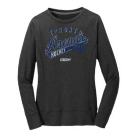 Toronto Maple Leafs adidas Women's Arenas Crew Neck Fleece