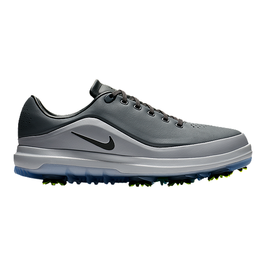 489418485 Nike Men s Air Zoom Precision - Grey Black Green