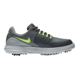 Nike Men's Accurate Golf Shoes - Grey/Volt