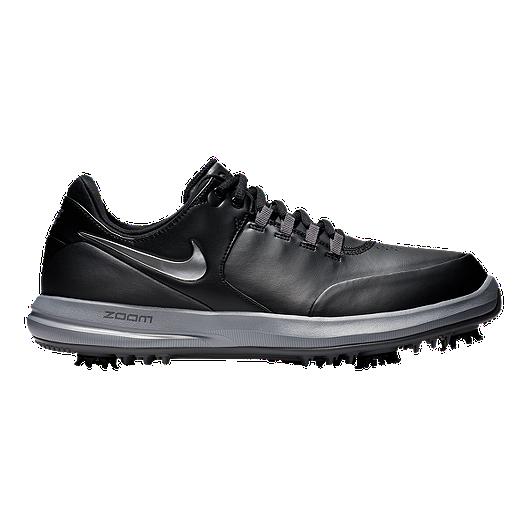6ba4e0d3ed589 Nike Men's Accurate Golf Shoe - Black/Silver/Grey | Sport Chek