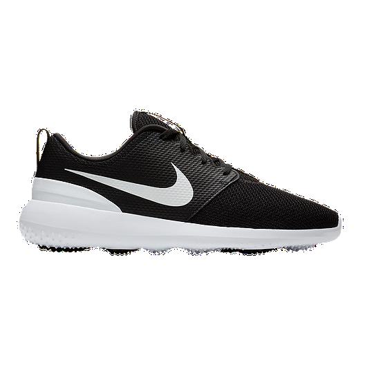 Golpeteo juicio Hecho de  Nike Men's Roshe G Golf Shoes - Black/White | Sport Chek