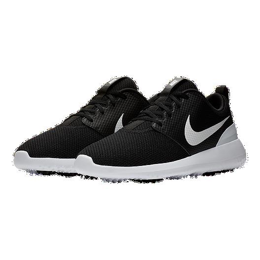 purchase cheap 3e173 1d4ae Nike Men's Roshe G Golf Shoes - Black/White
