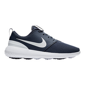 Nike Men's Roshe G Golf Shoes - Blue/White