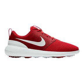Nike Men s Roshe G Golf Shoe - Red White c88e3c6f264