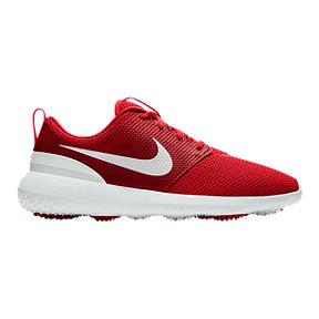Nike Men's Roshe G Golf Shoe - Red/White