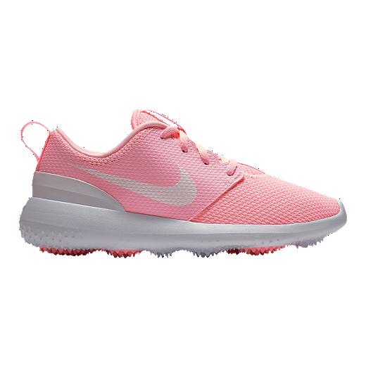 dacbc8efda Nike Women's Roshe G Golf Shoe - Pink/White | Sport Chek