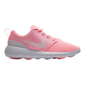 Nike Women's Roshe G Golf Shoes - Pink/White